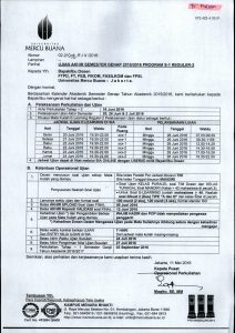 Ujian Akhir Semester Genap 2015-2016 Reg 2
